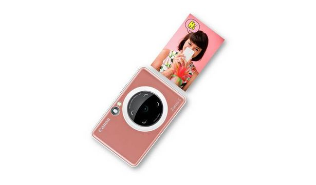 Canon Zoemini S Photo Printer - Rose Gold offer at £89.99