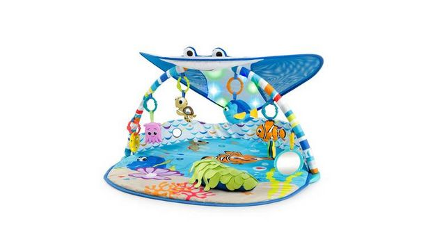 Disney Baby Mr. Ray Ocean Lights Activity Gym & Play Mat offer at £48.98