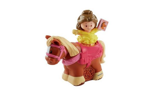 Fisher-Price Disney Princess Trot Along Phillipe and Belle offer at £5