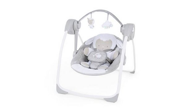 Ingenuity Comfort 2 Go Portable Swing - Cuddle Lamb offer at £42.5