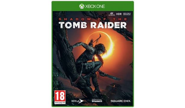 Shadow of Tomb Raider Xbox One Game offer at £10.99