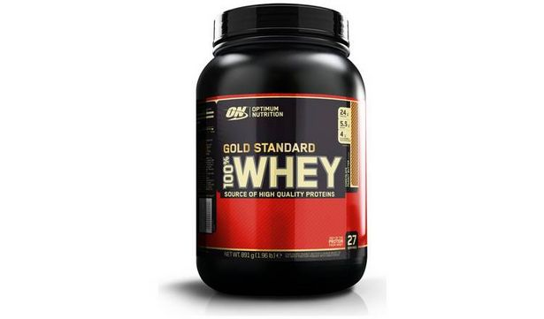 Optimum Nutrition 100% Whey Gold Standard Chocolate Peanut offer at £17.99