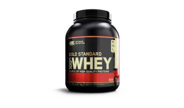 Optimum Nutrition gold Standard 100% Vanilla Whey 2.27kg offer at £37.49