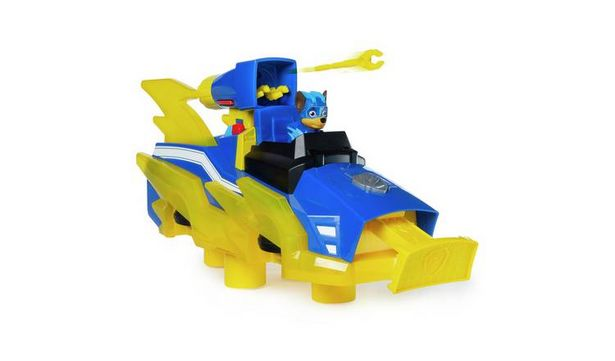 Mighty Pups Charged Up Chase's Deluxe Transforming Vehicle offer at £15