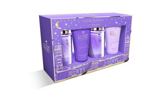 The Luxury Bathing Company Lavender Sleep Over Gift Set offer at £4