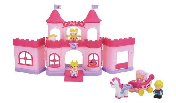 Chad Valley Tots Town Princess Castle Playset offer at £10