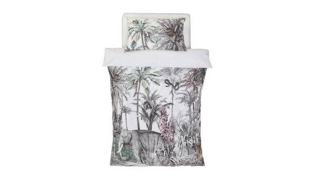 Argos Home Vintage Jungle Bedding Set offer at £9