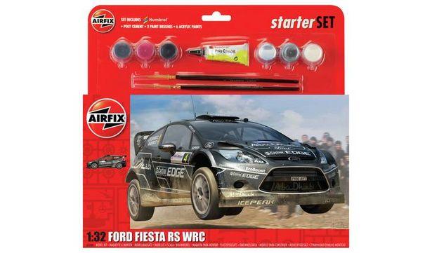 Airfix Ford Fiesta WRC Starter Set offer at £16.79