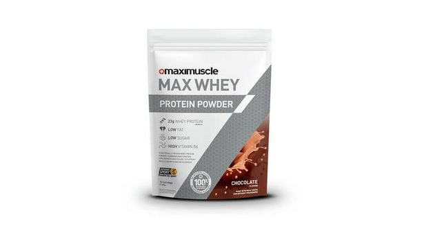 Maximuscle Chocolate Whey Protein Powder - 480g offer at £9.99