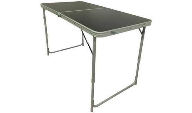 Twin Height Folding Aluminium Table - Large offer at £20
