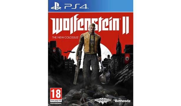 Wolfenstein II The New Colossus PS4 Game offer at £9.99