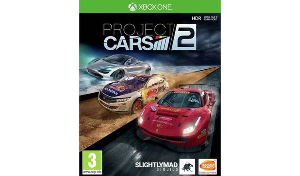 Project Cars 2 Xbox One Game offer at £9.99