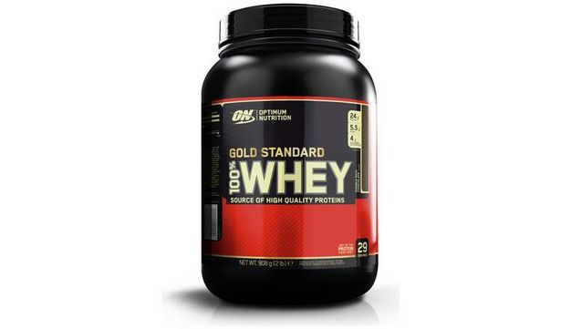 Optimum Nutrition 100% Gold Standard Whey Chocolate 908g offer at £17.99