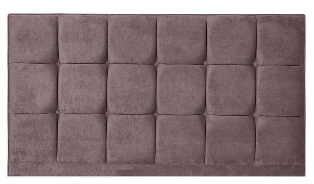 Forty Winks Floor Stand Headboard - Mauve offer at £199