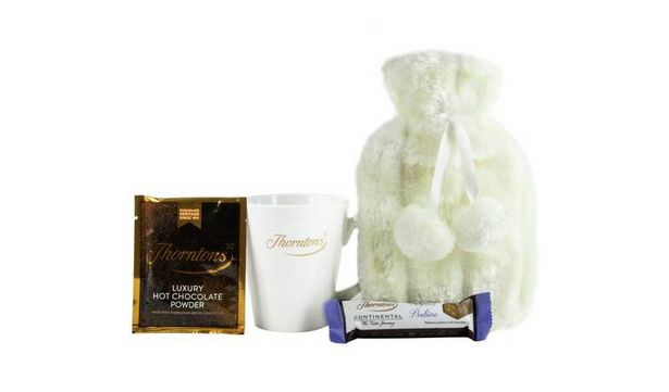 Thorntons Hot Water Bottle & Mug offer at £6