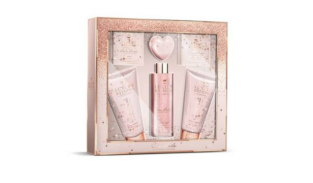 The Luxury Bathing Company Box of Treats Gift Set offer at £5