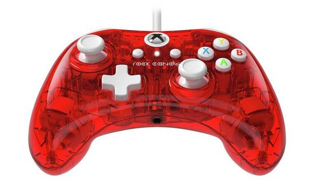 PDP Rock Candy Xbox One Mini Controller - Red offer at £13.99