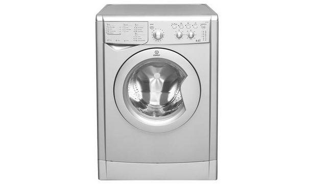 Indesit IWDC6125S 6KG / 5KG 1200 Spin Washer Dryer - Silver offer at £267.99