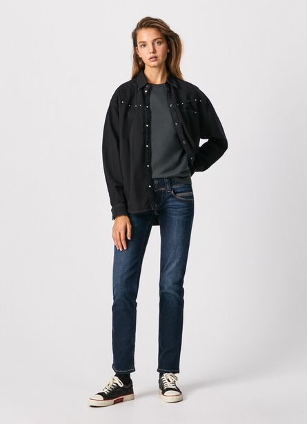 VENUS STRAIGHT FIT LOW WAIST JEANS offer at £90