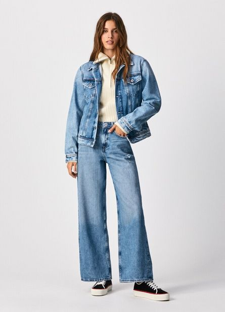 FAITH WIDE FIT HIGH WAIST JEANS offer at £85