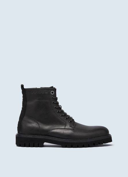 TRUCKER LEATHER SHOES offer at £110