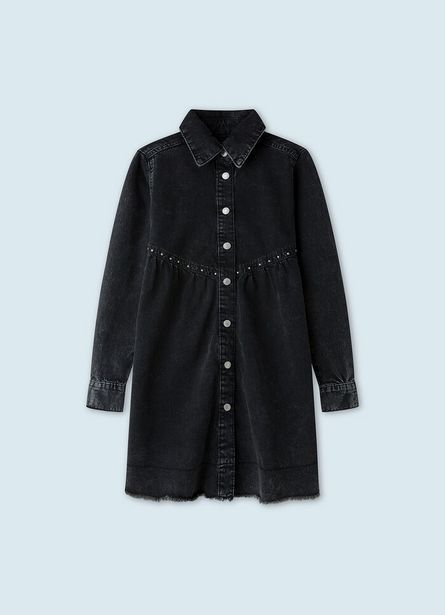 FLORIDA DRESS BABYDOLL DENIM DRESS offer at £60
