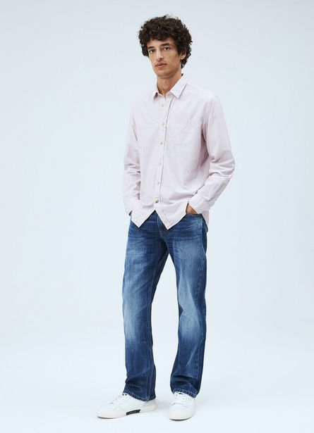 NEW JEANIUS RELAXED FIT REGULAR WAIST JEANS offer at £90