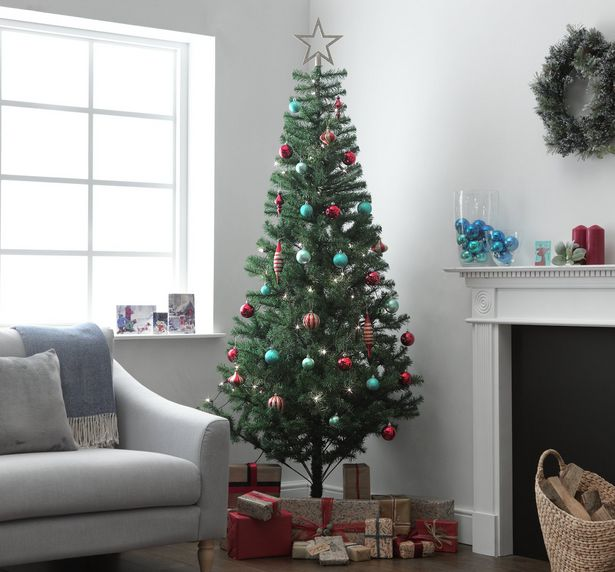 Argos Home 7ft Imperial Christmas Tree - Green offer at £10
