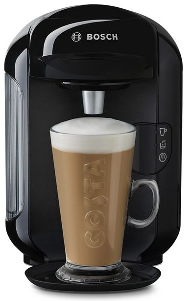 Tassimo by Bosch Vivy 2 Pod Coffee Machine - Black offer at £29.99