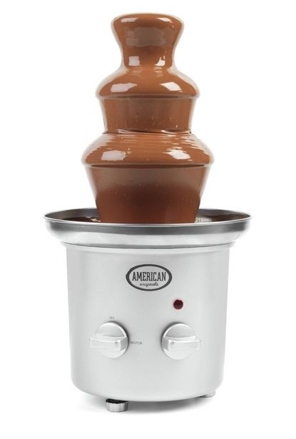 American Originals Chocolate Fountain - Silver  offer at £24.99