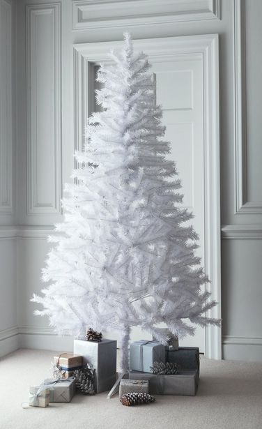 Argos Home 6ft Lapland Christmas Tree - White offer at £5