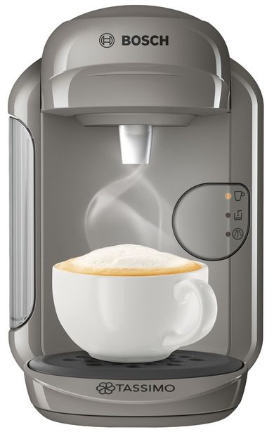 Tassimo by Bosch Vivy Pod Coffee Machine - Grey offer at £29.99