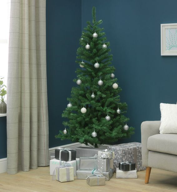 Argos Home 6ft Imperial Christmas Tree - Green offer at £9