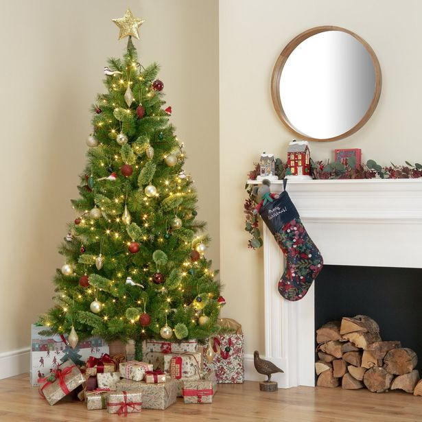 Argos Home 6ft Mixed Cashmere Christmas Tree - Green offer at £45