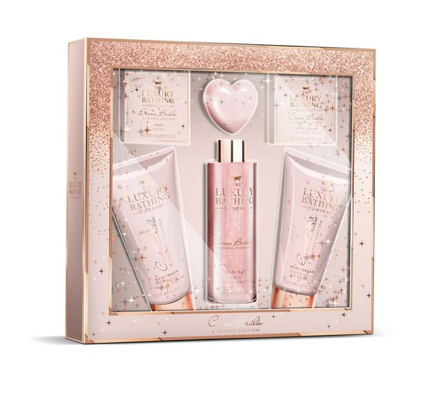 The Luxury Bathing Company Box of Treats Gift Set offer at £9.99