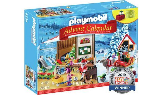 Playmobil 9264 Advent Calendar 'Santa's Workshop' offer at £12
