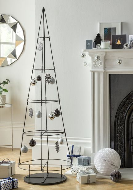 Argos Home 5ft Metal Space Saving Christmas Tree offer at £30