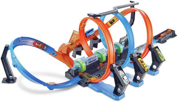 Hot Wheels Corkscrew Crash Track Set offer at £30