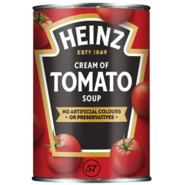 Heinz Tomato Soup 400g offer at £0.89