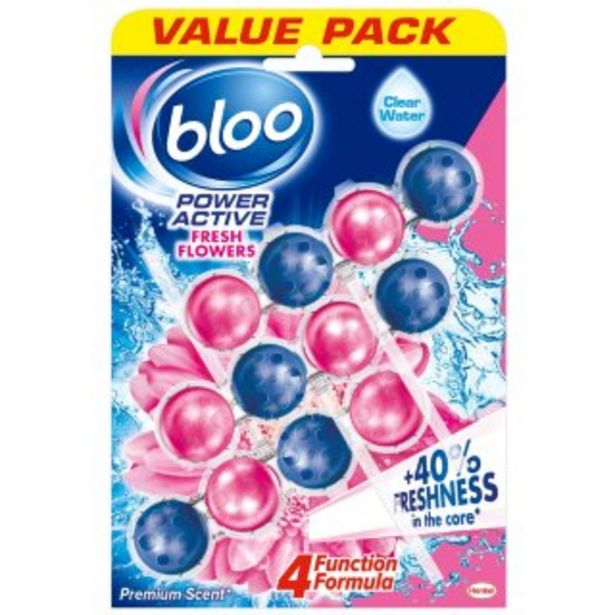 Bloo Power Active 3pk - Fresh Flowers offer at £2.89
