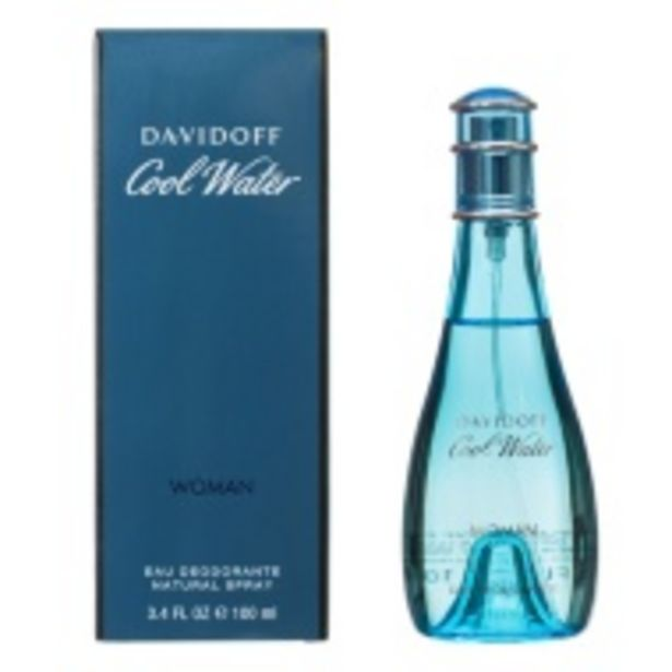 Davidoff Cool Water Ladies 100ml DEO offer at £9.99