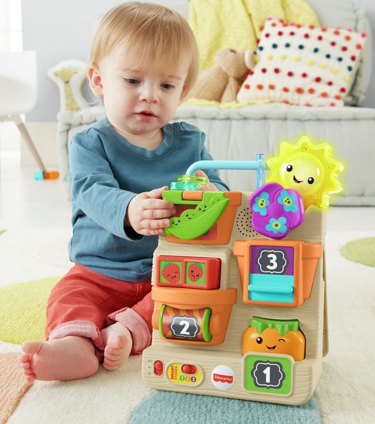 Fisher-Price Laugh & Learn Peek & Play Garden offer at £23