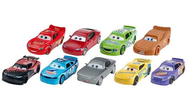Disney Cars 3 Die-Cast Singles Assortment offer at £2.1