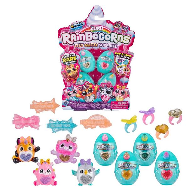 Rainbocorns Itzy Glitzy Surprise Collectible Eggs offer at £10