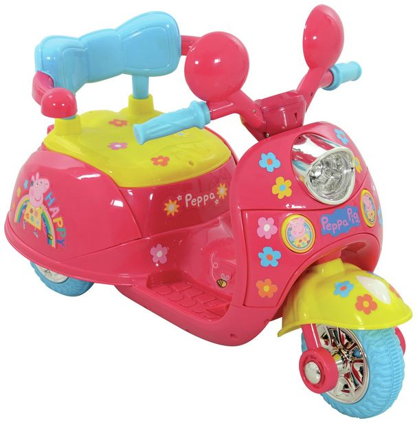 Peppa Pig 6V Powered Ride On offer at £80
