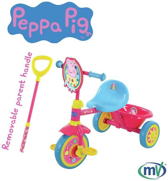 Peppa Pig Trike - Pink offer at £40