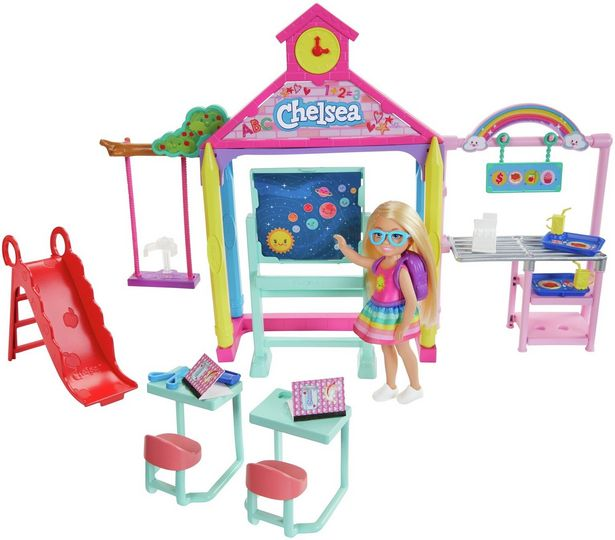 Barbie Chelsea Doll School Playset offer at £24