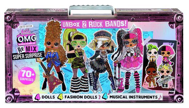 LOL Surprise! OMG Remix Super Surprise – 4 Dolls offer at £80