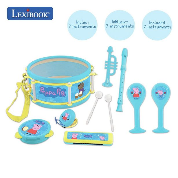 Peppa Pig Musical Set of 7 Instruments offer at £13