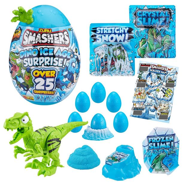 Smashers Dino Ice Age Surprise Egg With over 25 Surprises! offer at £20